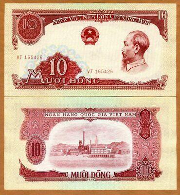 VIETNAM 10 DONG 1958 P 74 AUNC