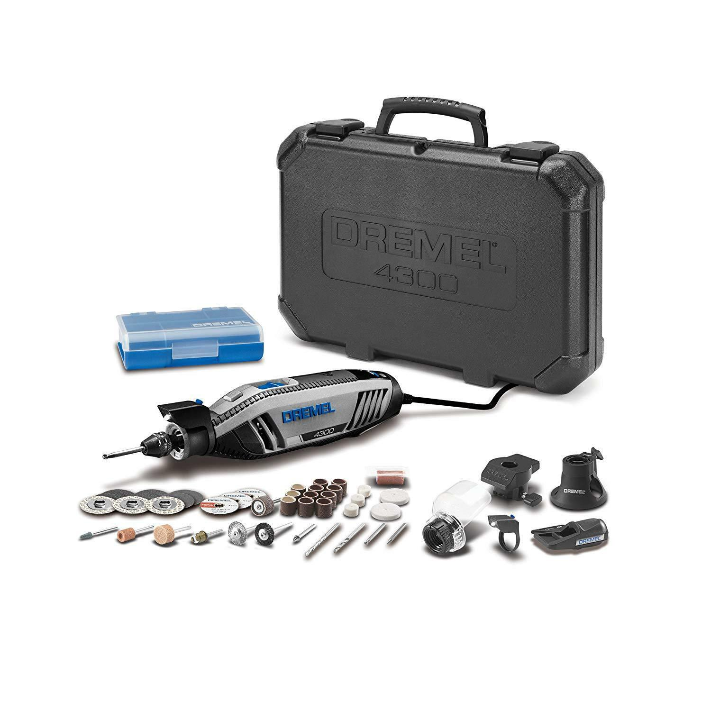 NEW Dremel 4300-5 40 High Performance Rotary Tool Kit FREE SHIPPING