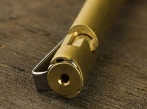 BÖKER PLUS Rocket Pen Brass Multi Purpose Pen Tactical Defense Kugelschreiber