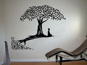 Great Image Is Loading Meditating Buddha Wall Art Sticker Buddhism  Decal Mindfulness