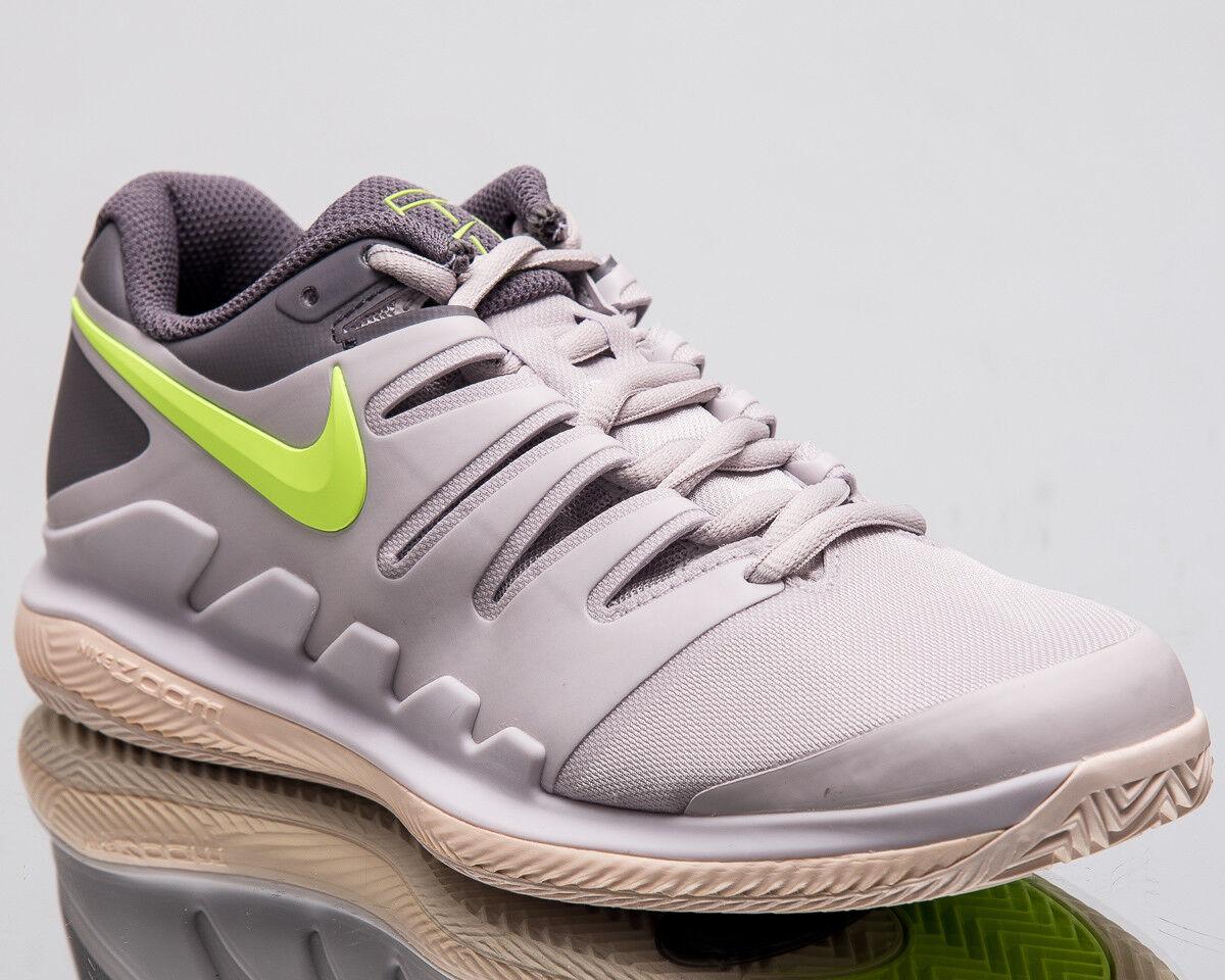 Nike Wmns Air Zoom Vapor X Clay Women New Vast Grey Volt Tennis shoes AA8025-002