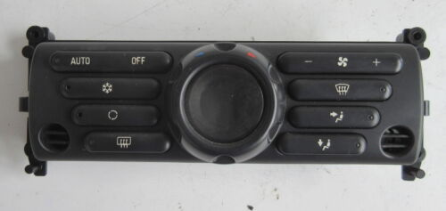 Usado Original Bmw Mini Aire con clima panel de control para R50 R53-6927684