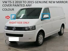 VW TRANSPORTER T5 10> ELECTRIC WING MIRROR MANUAL FOLDING R/H SIDE ANY VW COLOR