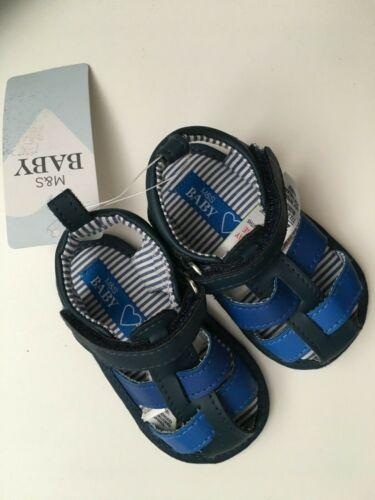 M/&S Kids' Slip-on Pram Shoes