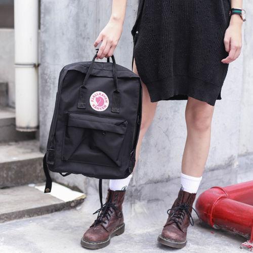 7L/16L/20L unisex Fjallraven Kanken Backpack Travel spalla scuola borse Marca 3
