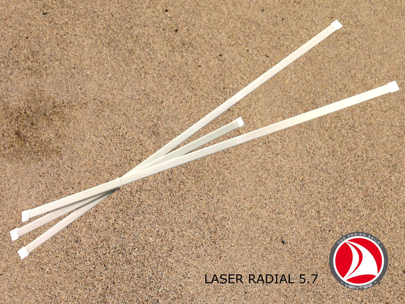 Ventoz Laser Laser Laser Radial Segel (5,7 m2) - Weiß 4b0e34