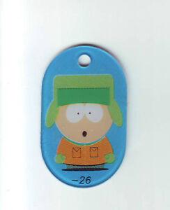 Sega-SOUTH-PARK-Original-1998-NOS-Pinball-Machine-Plastic-Promo-Keychain-Kyle