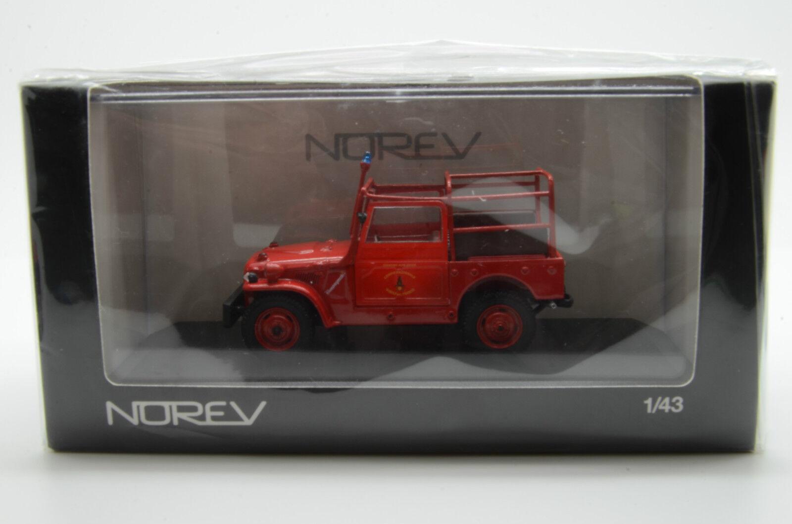 rara      Fiat Campagnola fuego VIGILI DEL FUOCO Norev 1 43 15855d