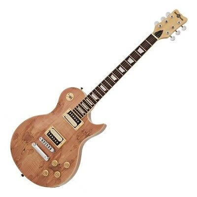 new jersey electric guitar by gear4music spalted maple ebay. Black Bedroom Furniture Sets. Home Design Ideas