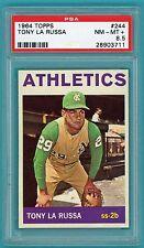 1964 Topps Tony La Russa RC – #244 PSA 8.5! Athletics! HOF!