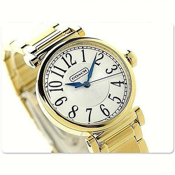 470570eb5936 Coach 14501720 Madison Stainless Steel Gold Tone Women s Watch for ...