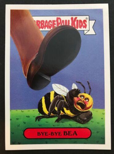 2017 Topps Garbage Pail Kids Series 1 Adam-Geddon #3a BYE-BYE BEA Pollution