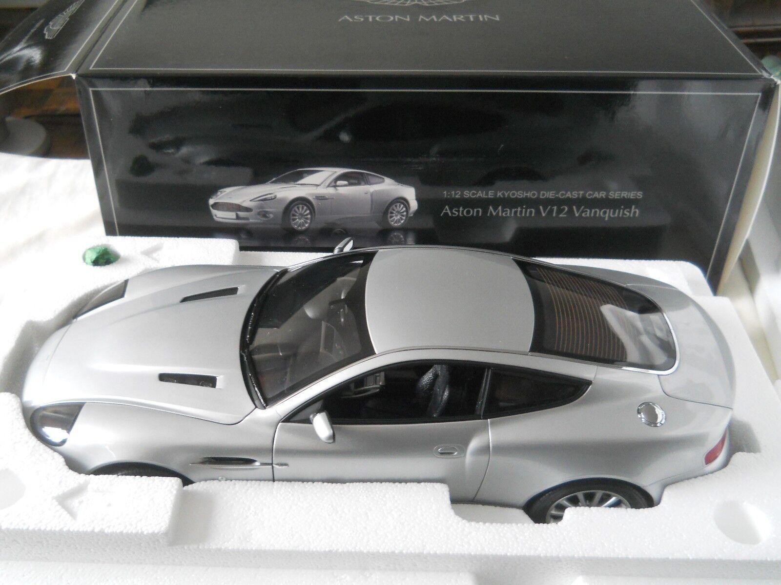 1 12 Kyosho Aston Martin Vanquish V12 NICE