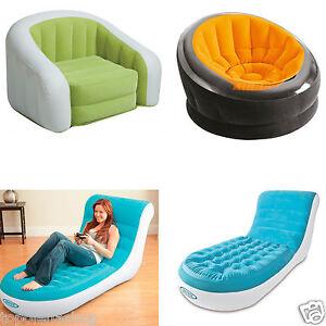 Intex divano poltrona gonfiabile poltroncina divanetto - Piscina da giardino intex ...