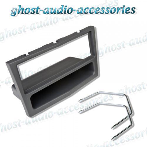 Vauxhall Anthracite Single DIN Car CD Stereo Facia Fascia Surround /& Radio Keys