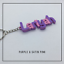 miniature 9 - Multi-colour Personalised Keyring, 3D printed keychain, Gift Tag,Stocking Filler