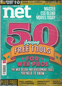 Net Magazine The Voice Of Web Design Issue 278 April 2016 W 2 Free Gifts Ebay