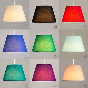 Contemporaneo-facil-ajuste-conico-de-algodon-de-luz-de-Techo-Colgante-Iluminacion-Salon-de-sombra