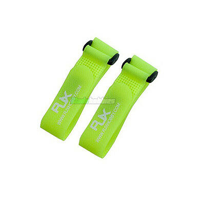 LIME VELCRO BATTERY STRAP FOR RC PLANE HELICOPTER CAR BOAT QUAD HEX TRI DJI FPV