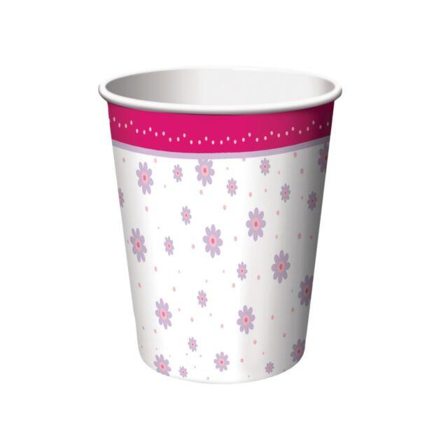 8 TuTu Much Fun Ballerina Ballet Happy Birthday Party 9oz Paper Cups