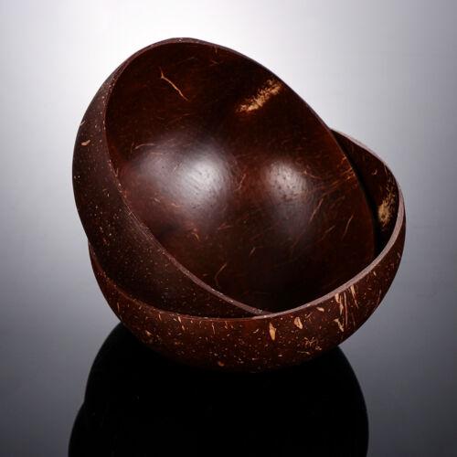 Natural Coconut Shell Bol Vintage Crème Glacée Coupes De Fruits Décoration Artisanat
