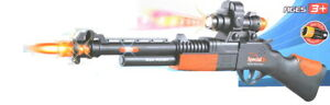 Toy-Gun-Electronic-Projection-Machine-GUN-B-O-w-flashing-lights-and-sounds