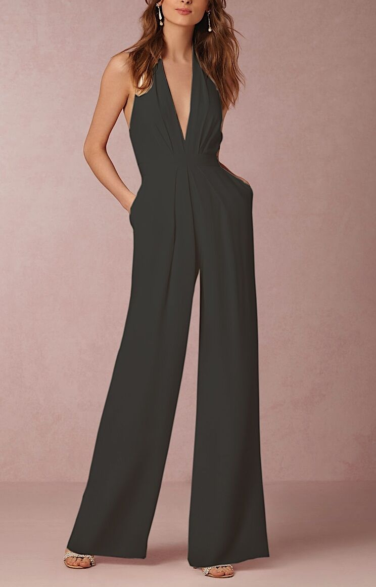 Tuta Pantaloni Casual Cerimonia women - Woman Jampsuit Romper 660015 P
