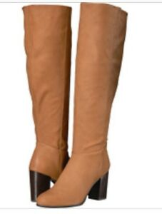 2b0f8fc01a78b Sam Edelman Women Sibley Luggage Circus Knee High Boot Zipper Shoes ...