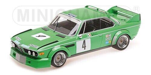 BMW 3.0 CSL Jolly Club  4 Finotto, Facetti ETCC Zevoort 1979 Minichamps 1 18