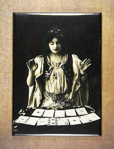 Details about Gypsy Fortune Teller Fridge Magnet Oracle Divination Palm  Reader Soothsayer