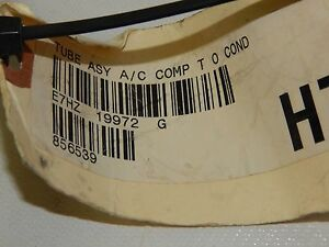 New OEM 1984-1992 Ford L LT LTS LN LNT900 Air Conditioning Line E7HZ-19972-G