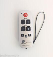 Gmatrix Best Big Button waterproof Universal Remote Control Vizio Sharp A-TV11