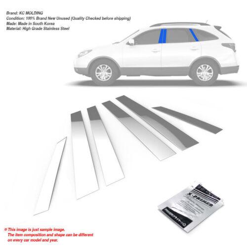 Stainless Steel Chrome Window Pillar Molding 6P For HYUNDAI 2007-2013 Veracruz