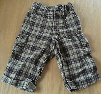 Clothing, Shoes & Accessories Baby & Toddler Clothing Honest Boys Checked Gap Trousers Size 6-12 Months