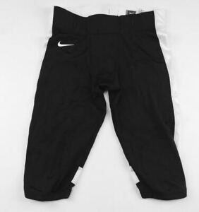 New-Nike-Stock-Open-Field-Football-Game-Pant-Men-039-s-Large-Black-White-615745