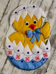My First Embroidery Kit Easter Chick