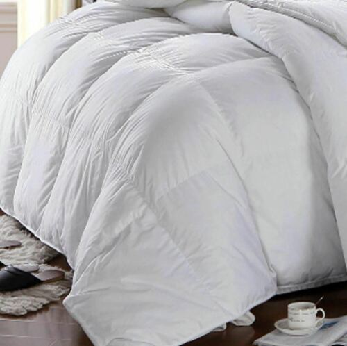 Winter Weight Deluxe and Authentic 100/% Pure Cotton Down Alternative Comforter