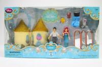 Disney Kids Princess Ariel Eric Mini Castle Figurine Play Set Dolls Toys 8pc