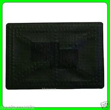 Single Universal Heavy Duty Rubber Car Mat [EQ37] 50cm x 35cm Black Single