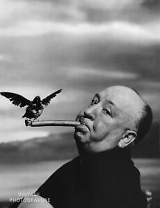 photo 10*15cm 4x6 INCH ALFRED HITCHCOCK 76
