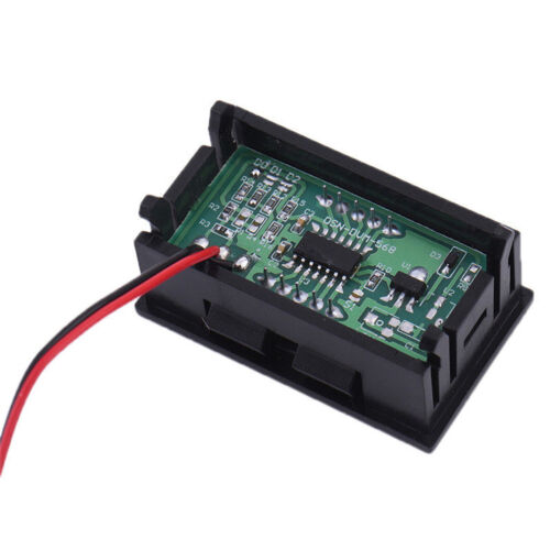 Green LED Panel Meter Mini Digital Voltmeter DC 0V To 30V neue gute Qualität