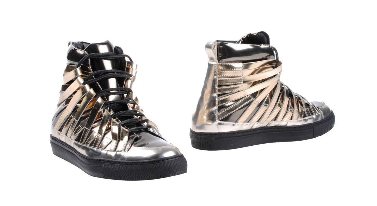 Damir Doma Platinum FALCO paniers taille 43 10 Neuf Cuir Daim Chaussures paniers
