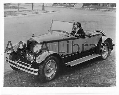 1926 Peerless Roadster Factory Photo Ref. #63641