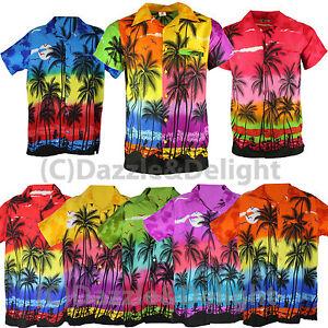 HAWAIIAN-SHIRT-PARTY-FANCY-DRESS-S-XL-XXL-BEACH-PALM-TREE-SHIRT-STAG-PARTY-LARGE