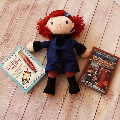 Macys Exclusive YES VIRGINIA Doll 15 Inch Holiday Christmas Plush NEW NIP