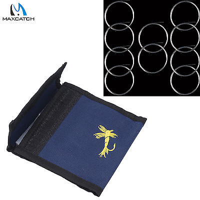 Fly Fishing Leader 9FT 3//4//5//6X Tapered Nylon Leader with Loop /& Leader Wallet