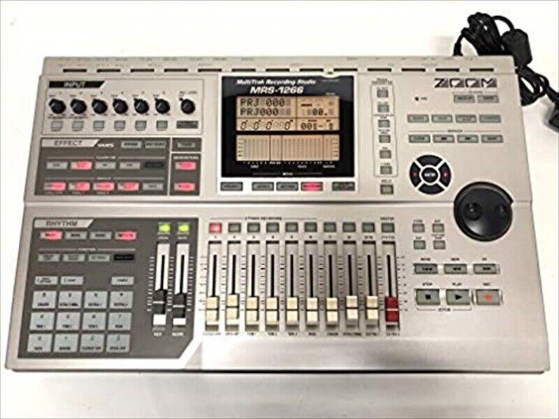 ZOOM MRS-1266 MULTITRACK RECORDER MTR 18GB DIGITAL STUDIO RECORDING