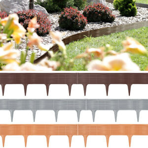 Bordure de jardin, rebord de jardin pelouse parterre palisade ...