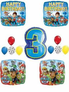 Image Is Loading 13 Pc PAW PATROL Chase MARSHALL 3RD Birthday
