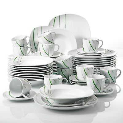 Cuisine en Céramique Vaisselle Dîner Sets assiettes bols tasses vaisselle salle à manger service